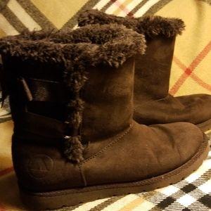 Girl's (sz 2) Brown Airwalk Boots